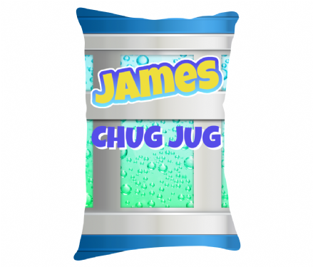 "Personalised Fortnite Slurp Chug Jug Design 20"" x 12"" Lumbar Cushion"